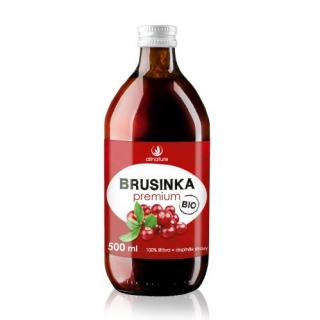 Brusnica Premium 100% BIO - 500ml