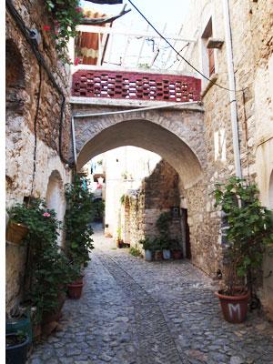 Ulička na ostrove Chios