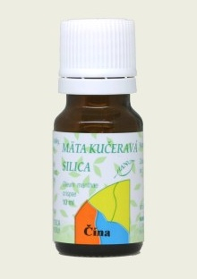 MÄTOVÁ SILICA SPEARMINT 10 ml